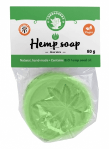 Soaps, shower gels and shampoos with cannabis concentrated in CBD