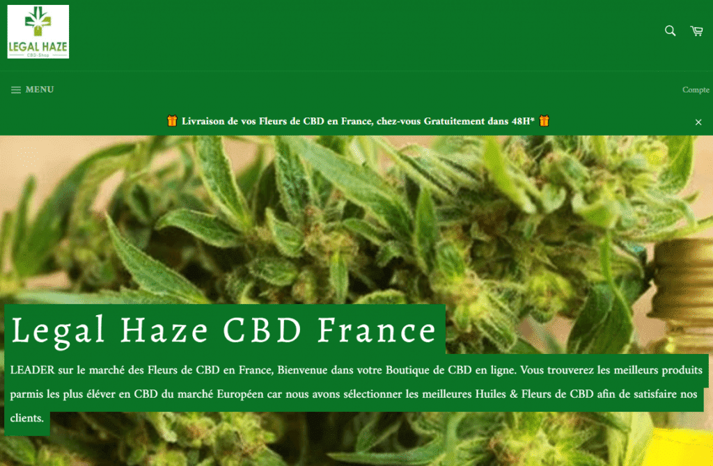 ADVARSEL FARE: Legal Haze CBD  (legalhazecbd.fr) 1
