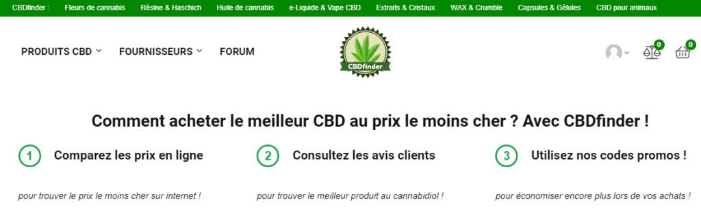 Comparação de preços on-line para o seu CBD (canabidiol)! 2