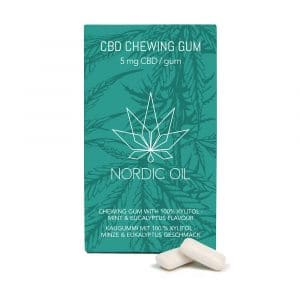 Chewing-Gum CBD Nordic Oil