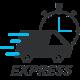 Livraison express par coursier